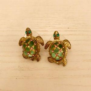 Betsey Johnson turtle studs